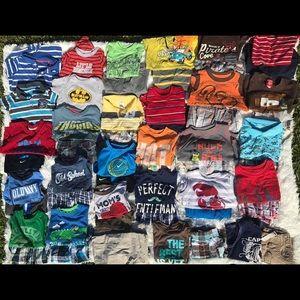 Name brand boys clothes 18-24 mo & 2t
